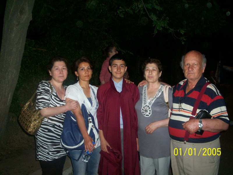 Torunum Can'ın Diploma Töreni